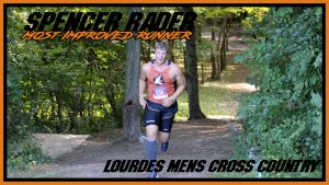 Spencer Rader Most Improved Runner Cross Country
