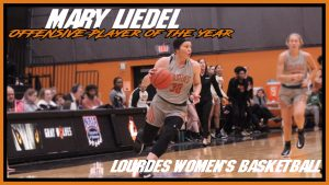 Womens Basketball Mary Liedel Offensive Player Of The Year