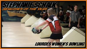 Womens Bowling Stephanie Schalk Newcomer Of The Year