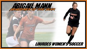 Womens Soccer Abigail Mann Newcomer Of The Year