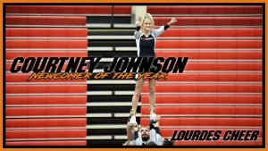 Cheer Newcomer Of The Year Courtney Johnson