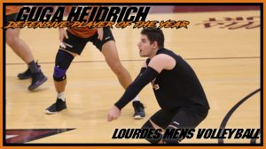 Mens Volleyball Defensive Player Of The Year Guga Heidrich