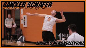 Mens Volleyball Newcomer Of The Year Sawyer Schafer