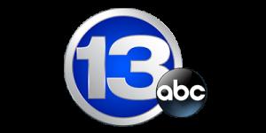 WTVG 13 ABC TV Logo