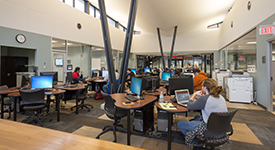 Image inside the Academic Success Center