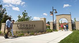 Image of Lourdes University campus