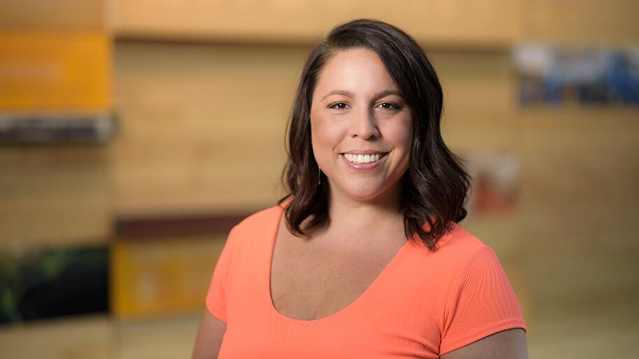 Lourdes MBA graduate student