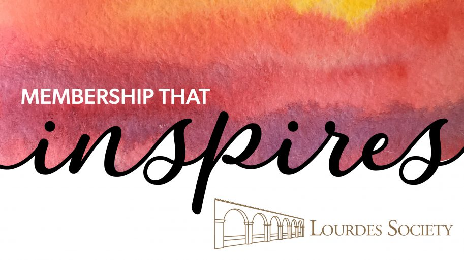 Lourdes Society Inspire Logo