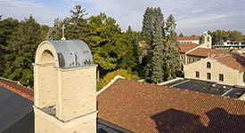 Lourdes University Campus Image Of Rooftops And Sky