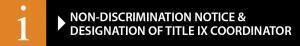 Title IX Non Discrimination Icon