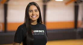 Photo of Lourdes undergraduate student