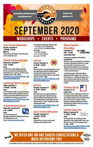 Career Services September 2020