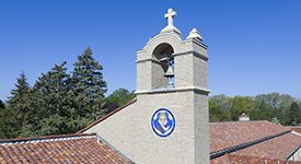 Photo of St Clare Hall Bell Tower architecture
