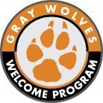 Gray Wolves Welcome Program Logo