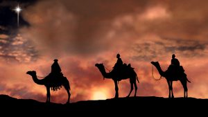 The Christmas Star video - picture of three wise men