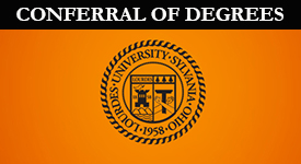 Seal With Conferral Of Degrees text