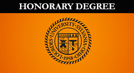 Seal With Honorary Degree text