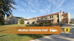 Stop 2 Lourdes Drive Thru Tour - Mother Adelaide Hall