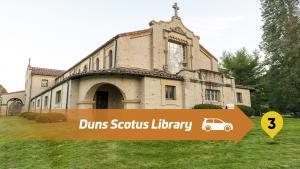 Stop 3 Lourdes Drive Thru Tour - Duns Scotus Library