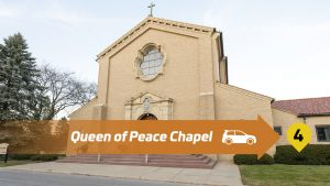Stop 4 Lourdes Drive Thru Tour - Queen of Peace Chapel