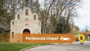 Stop 5 Lourdes Drive Thru Tour - The Portiuncula Chapel