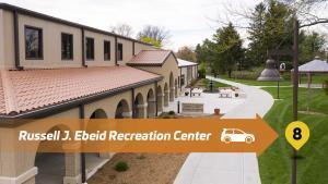 Stop 8 Lourdes Drive Thru Tour - Russell J. Ebeid Recreation Center