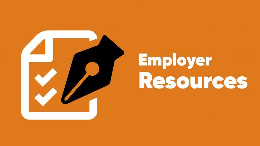 Employer Resources Top Header