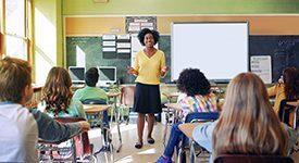 Middle Childhood Education image educator teaching students