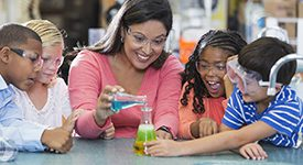 Primary Education image educator educator teaching science to students