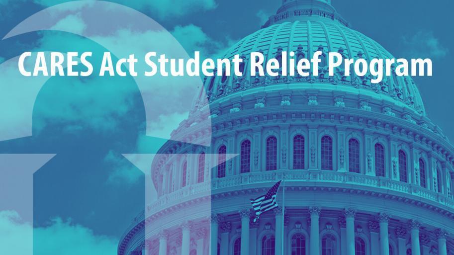 Capitol Dome image with Lourdes University logo overlaid on left side