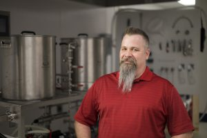 Photo of Craft Beverages major Nathaniel Von Seggern