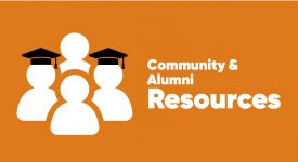 Community & Alumni Resources Box