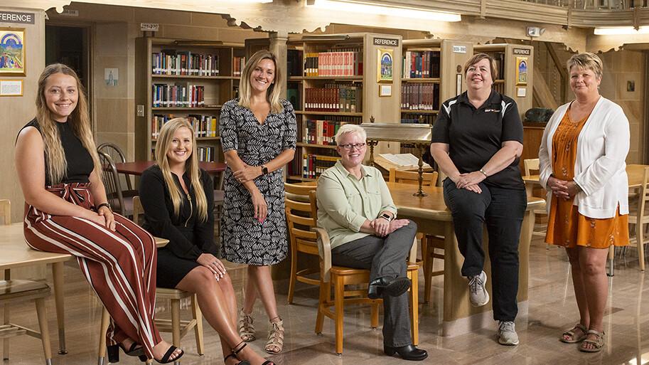 Financial Aid Team Photo